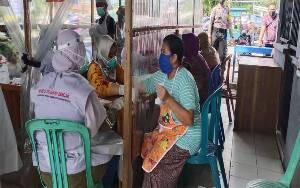 Rapid Test Tahap II di Pasar Saik Sukamara Kembali Dilaksanakan