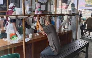 Rapid Test Pasar Saik Sukamara Tahap 2 Diikuti 44 Pedagang