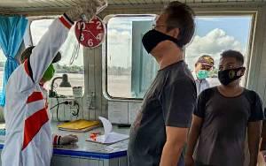 Pemeriksaan ABK di Sungai Kapuas Masih Berlanjut untuk Cegah Covid-19