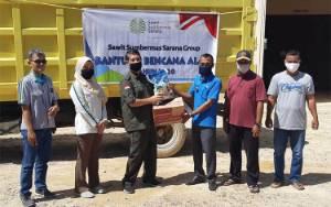 SSMS Tbk Salurkan Bantuan Sembako untuk Korban Banjir Desa Kondang