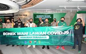 Pangdam Brawijaya dan Kapolda Minta Bonek Sosialisasikan Bahaya Penyebaran Covid-19