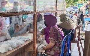 Hasil Rapid Test 196 Pedagang Pasar Saik Sukamara, 27 Reaktif