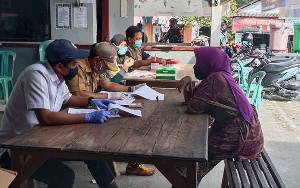 Tim Gugus Tugas Covid-19 Sukamara Petakan Pedagang Pasar Saik Reaktif