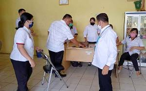 Wabup Barito Timur Kunjungi Kantor Camat Benua Lima