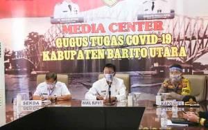 Pemkab Barito Utara Ikuti Rapat Koordinasi Pemantapan Pilkada Serentak