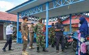Satgas PSKH Kelurahan Sabaru Ingatkan Warga Disiplin Terapkan Protokol Kesehatan