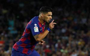 Barcelona vs Espanyol 1-0, Gol Suarez Bikin Lawan Terdegradasi