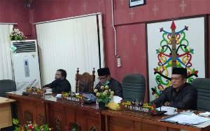 DPRD Palangka Raya Sampaikan Sejumlah Rekomendasi Manajemen Pengelolaan Keuangan Daerah
