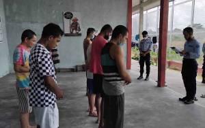 Lapas Sukamara Terima 12 Tahanan dari Polres
