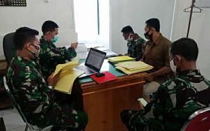 Kodim 1011 Kuala Kapuas Terima Kunjungan Kerja dari Tim Wasgiat Sintelad