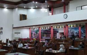 DPRD Palangka Raya Terima Kunjungan Kerja DPRD Banjarbaru Bahas Terkait Fungsi Banggar