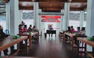 Bupati Seruyan Pimpin Rapat Koordinasi Penanganan Karhutla Dari Sisi Kearifan lokal