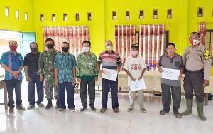 Danramil 1012-02 Bentot Perintahkan Babinsa Kawal Penyaluran BLT DD di 3 Desa