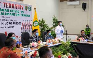Kotawaringin Timur Dapat Bantuan Alat PCR Langsung dari Presiden Jokowi