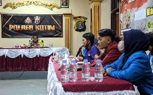 Mahasiswa Kritis saat Audiensi dengan Kapolres Kotawaringin Timur