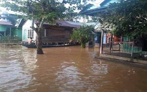 Tumbang Samba dan Tumbang Kaman Katingan Diterjang Banjir