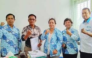 Ikatan Guru Indonesia Palangka Raya Serahkan Dokumen Organisasi ke Disdik