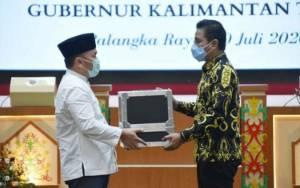 Serahkan PCR, Ini Pesan Gubernur Kalteng untuk Bupati Kotim