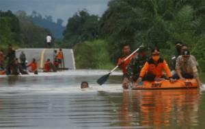 Air Disejumlah Sungai Besar Meluap, 7 Kecamatan di Lamandau Dikepung Banjir Besar