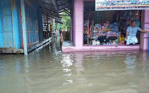 Warga Wilayah Tengah dan Selatan di Katingan Diimbau Waspadai Banjir Kiriman