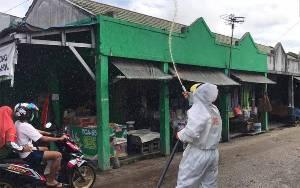 Ditsamapta Polda Kalteng Kembali Lakukan Penyemprotan Disinfektan
