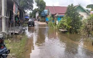 5 Jalan Dalam Kota Kuala Kurun Terendam Banjir