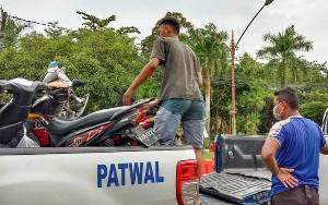2 Pemotor Terlibat Kecelakaan di Jalan Mahir Mahar