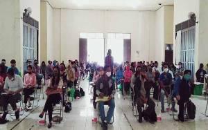KPU Barito Selatan Rapid Tes Seluruh Badan Adhoc di Kecamatan Gunung Bintang Awai