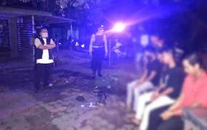 Polisi Amankan 7 Pemuda Pesta Miras dan Ngelem di Palangka Raya