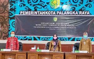 Pemko Palangka Raya Rapat Pengendalian Inflasi Daerah