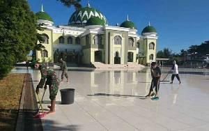 Kodim 1011 Kuala Kapuas Laksanakan Karya Bakti Peringati HUT Kodam XII Tanjungpura