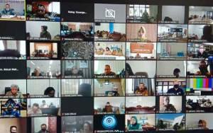 Sekretariat DPRD Kota Palangka Raya Ikuti Rakernas XI Asdeksi Secara Virtual