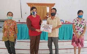 Lama Menanti, Warga Desa Haringen Akhirnya Terima BLT DD Tahap I