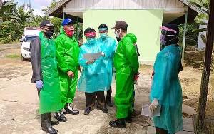 Polsek Dusun Tengah Kawal Kegiatan Rapid Test di Wakatitir