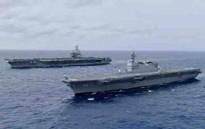 Head to Head Angkatan Laut Amerika dan Cina di Laut Cina Selatan
