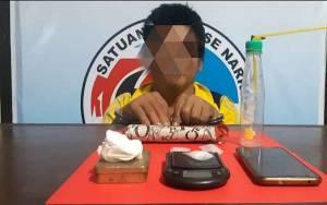 Edarkan Narkoba, Warga Pangkalan Bungur Ditangkap Satresnarkoba Polres Kobar