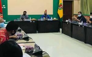Kasatpol PP Kalteng Hadiri Monev di Kabupaten Katingan