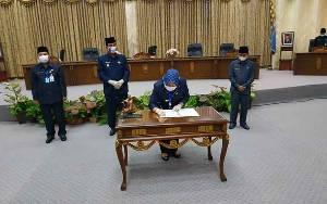 DPRD Setujui Raperda Pertanggungjawaban APBD Barito Utara 2019