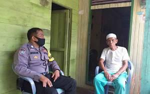 Personel Polsek Kapuas Barat Sambangi Tokoh Agama Sosialisasikan Kathutla