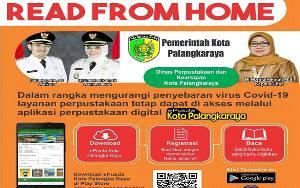 Pemko Palangka Raya Luncurkan Aplikasi E-Pusda
