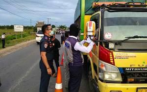 Pos Libas Periksa 232.429 Unit Kendaraan dari Luar Palangka Raya