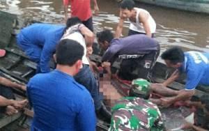 Warga Mandomai Tewas Tenggelam di Tepi DAS Kapuas