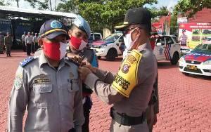 Polres Barito Utara Gelar Pasukan Operasi Patuh Telabang 2020