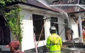 1 Rumah di Jalan Riau Terbakar, Kerugian Mencapai Rp 300 Juta