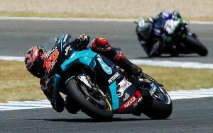 Hasil FP2 MotoGP Cek: Quartararo Tercepat, Rossi Melorot ke Urutan 12