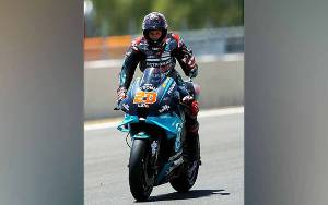 MotoGP Andalusia: Fabio Quartararo Pole Position, Marquez Mundur