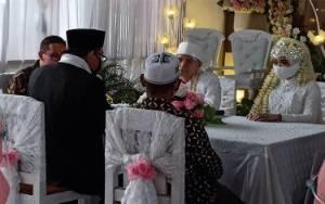 Resepsi Pernikahan Menerapkan Protokol Kesehatan New Normal di Sampit