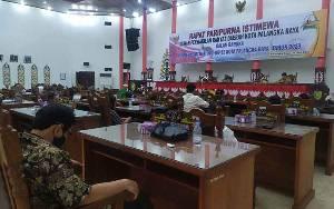 DPRD Palangka Raya Jelaskan PAD Minol ke Anggota DPRD Banjarmasin