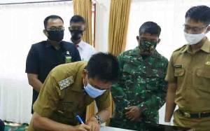 Bupati Barito Utara Inginkan Pengedar Narkoba Juga Ditindak dengan Pasal Pencucian Uang