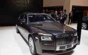 Rolls-Royce Gegap Gempita Luncurkan Ghost II